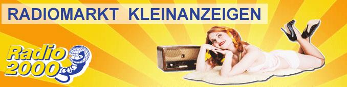 Radiomarkt - Kleinanzeigen